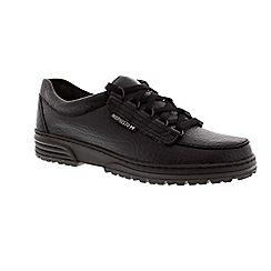 Mephisto - Black 'Wanda' lace-up shoe
