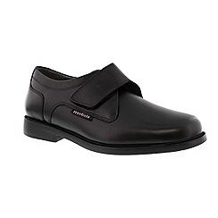 Mephisto - Black 'Athos' men's smart velcro shoes