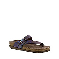 Mephisto - Multi-coloured 'Helen' nairobi ladies toe post sandal