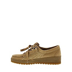 Mephisto - Tan 'Lady' ladies lace up shoe