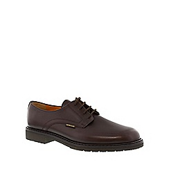 Mephisto - Dark brown 'Marlon' men's smart lace up shoes