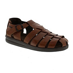 Mephisto - Brown 'Sam' men's sandals