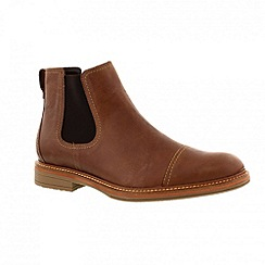 Mephisto - Brown 'Chelsea' mens boot