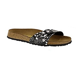 Birkenstock - Multi-coloured flowers 'Madrid' papillio ladies single strap sandal