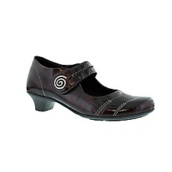 Remonte - Dark red ladies mary jane shoe