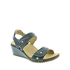 Earth Spirit - Blue Earth Spirit Blue 'Santa Cruz' Women's Sandals