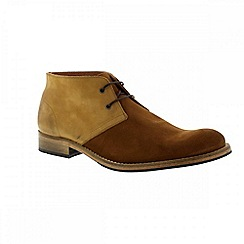 Selected Homme - Brown cognac 'Brandon' mens boots