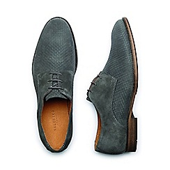 Selected Homme - Grey 'monk mens shoes