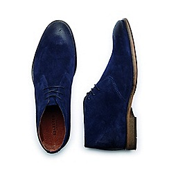 Selected Homme - Navy 'Bolton' Men's Suede Boots