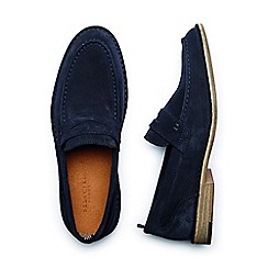 Selected Homme - Navy 'Ley' Men's Penny Loafers