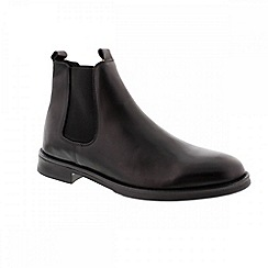 Selected Homme - Black 'Marc' men's chelsea boot