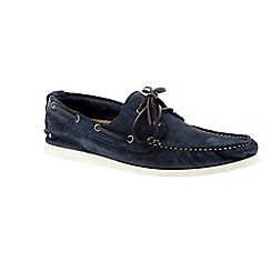 Selected Homme - Navy blazer 'Philip shoe' men's boat shoes