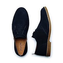Selected Homme - Navy 'Royce' men's chukka Boots