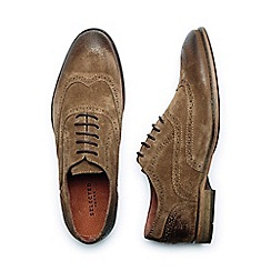 Selected Homme - Tan 'Bolton' Men's Suede Brogue Shoes