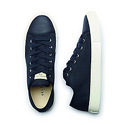 Selected Homme - Navy 'Jean' Men's Canvas Shoes