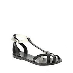 Zaxy - Black Zaxy Black 'Frozen' Women's Sandals