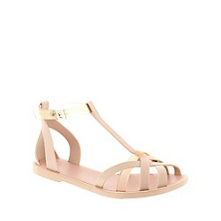 Zaxy - Natural Zaxy Nude 'Frozen' Women's Sandals