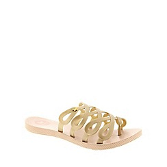 Zaxy - Metallic Zaxy Blush 'Infinity' Women's Sandals
