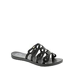 Zaxy - Black Zaxy Black 'Infinity' Women's Sandals