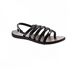 Zaxy - Black 'Joy fresh' ladies sandals