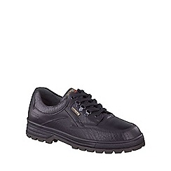 Mephisto - Black 'Barracuda' mens casual shoes