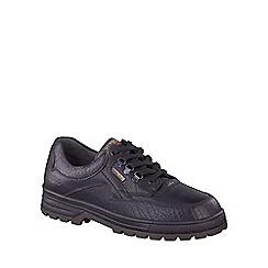 Mephisto - Black 'Barracuda' mens casual shoes
