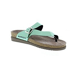 Mephisto - Green 'Helen' ladies sandals