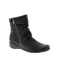 Mephisto - Black 'Seddy' ladies ankle boots