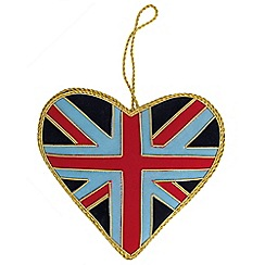 Help for Heroes - Heart Christmas Tree Decoration