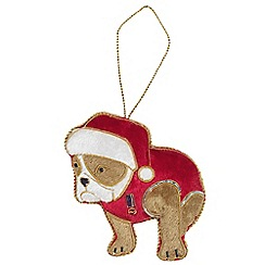 Help for Heroes - Bulldog Christmas Tree Decoration