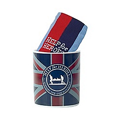 Help for Heroes - Union Jack Mug and Sock Set