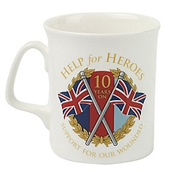 Help for Heroes - 10th anniversary mug