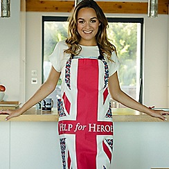 Help for Heroes - Floral Flag Apron