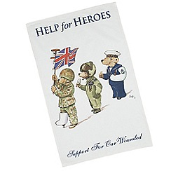 Help for Heroes - Bears on Parade Tea Towel