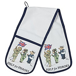 Help for Heroes - Bears on Parade Double Oven Glove