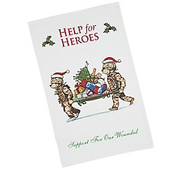 Help for Heroes - Bearing Gifts Tea Towel