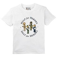 Help for Heroes - Children's team bear t-shirt