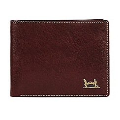 Help for Heroes - Brown leather wallet