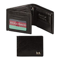 Help for Heroes - Black leather wallet