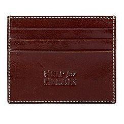 Help for Heroes - Brown slim credit card wallet