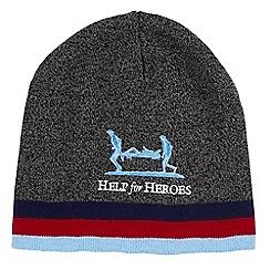 Help for Heroes - Grey marl beanie hat