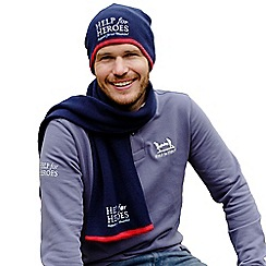 Help for Heroes - Navy Logo Beanie