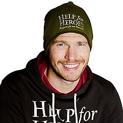 Help for Heroes - Green Logo Beanie