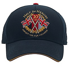 Help for Heroes - 10th anniversary baseball cap