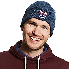 Help for Heroes - Navy marl Scafell beanie