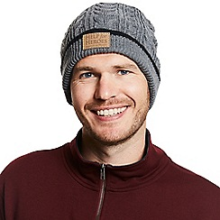 Help for Heroes - Grey pillar cable knit hat