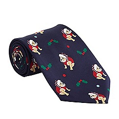 Help for Heroes - Christmas bulldog tie