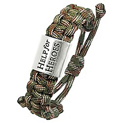 Help for Heroes - Camo cord bracelet