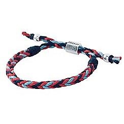 Help for Heroes - Plaited tri colour bracelet