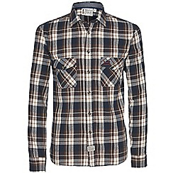 Help for Heroes - Oatmeal check flannel shirt